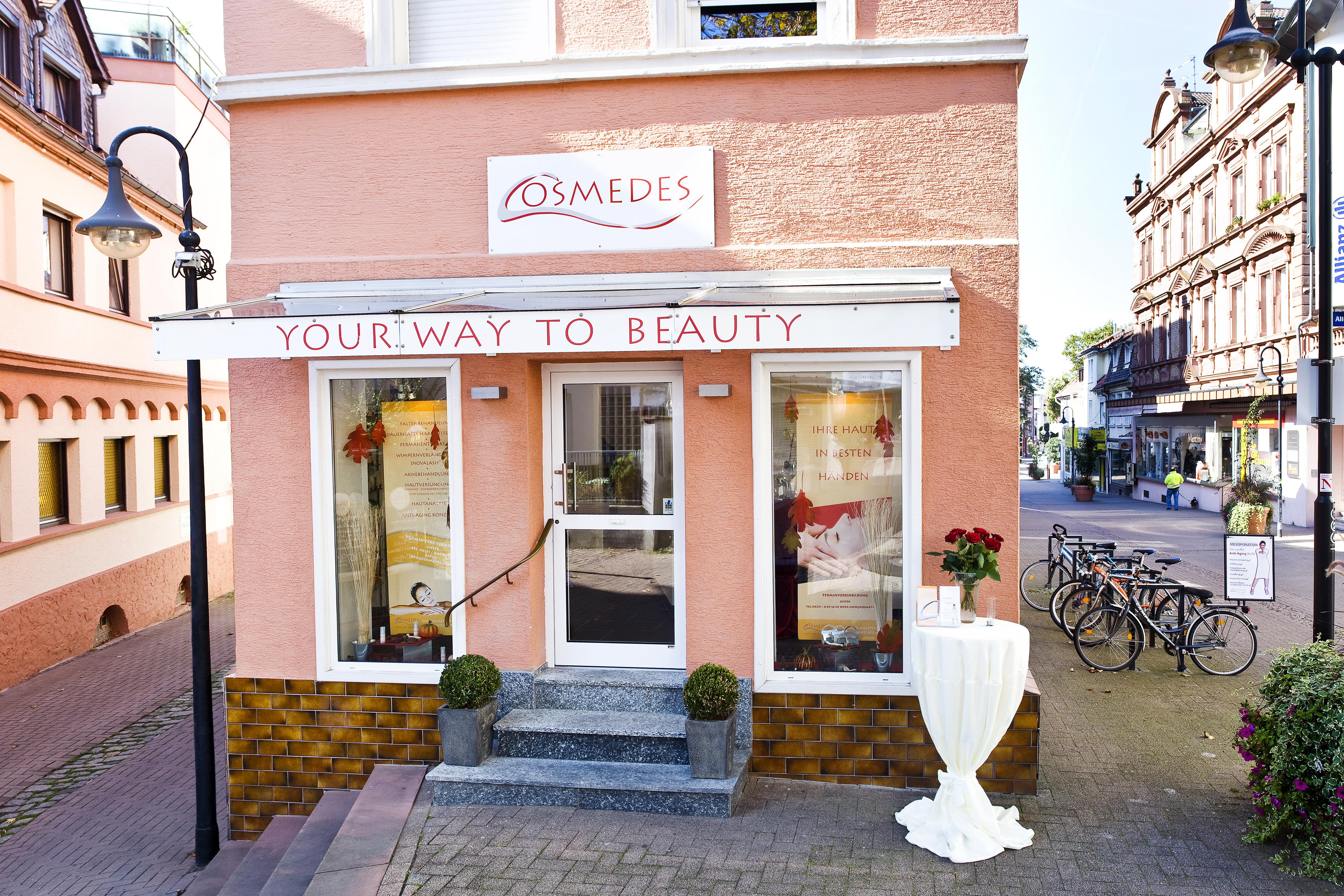 Kosmetikinstitut Cosmedes Bensheim Außenansicht
