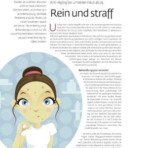 "Presse Beauty Forum ""Anti-Aging bei unreiner Haut"" 1/3"